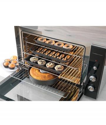HORNO ELECTRICO 80LTS TURBO FAST GRILL