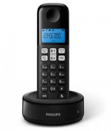 TELEFONO D 1311B/77 INALAMBRICO NEGRO
