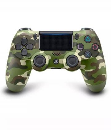JOYSTICKS DUALSHOCK 4 GREEN CAMO