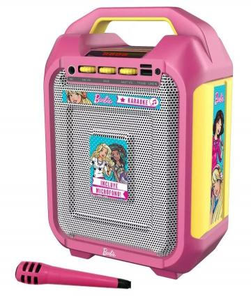 KARAOKE PORTABLE BARBIE BKC001