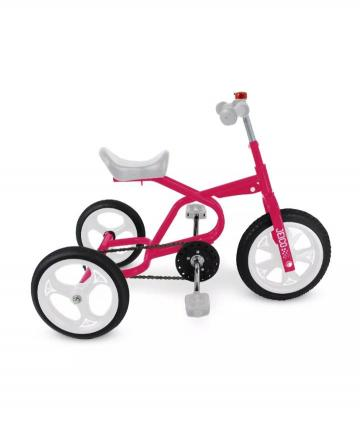 TRICICLO A PEDAL ENT-50472 FUCSIA Y BLANCO
