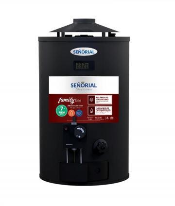 TERMOTANQUE GAS 30L A/R MG BLACK