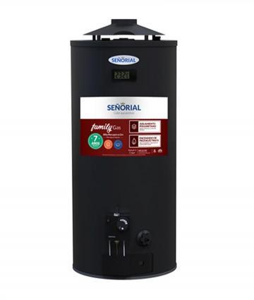 TERMOTANQUE GAS 50L A/R MG BLACK