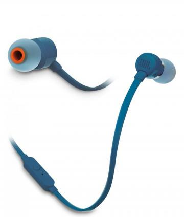 AURICULARES JBLT110 BLUE HEADPHONE