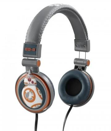 AURICULARES HP9904 BB-8 STAR WARS DISNEY