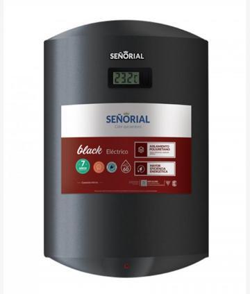 TERMOTANQUE ELECTRICO 60L COLGAR BLACK