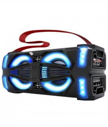 PARLANTE PORTATIL LIGHT-X BLUETOOTH/USB/MICROSD